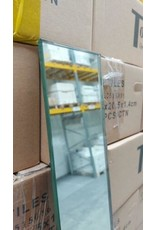 Linea Uno op=op Glasplaat 8mm SPIEGEL glas 10 x 200 cm