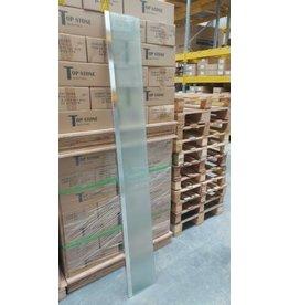 Linea Uno op=op Zijwand Tulta 25 x  200 cm mat glas €19,95