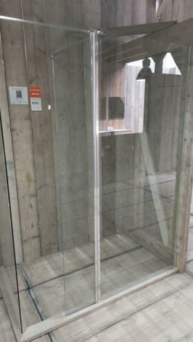 Linea Uno Zijwand beweegbaar 30 x  200 cm