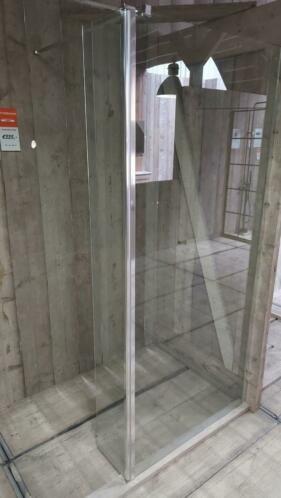 Linea Uno Seitenwand beweglich Tulta 35 x 200 cm - Copy