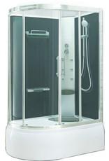 Linea Uno Premium bad/douche 130x85 h 220 cm veiligheidsglas 5 mm