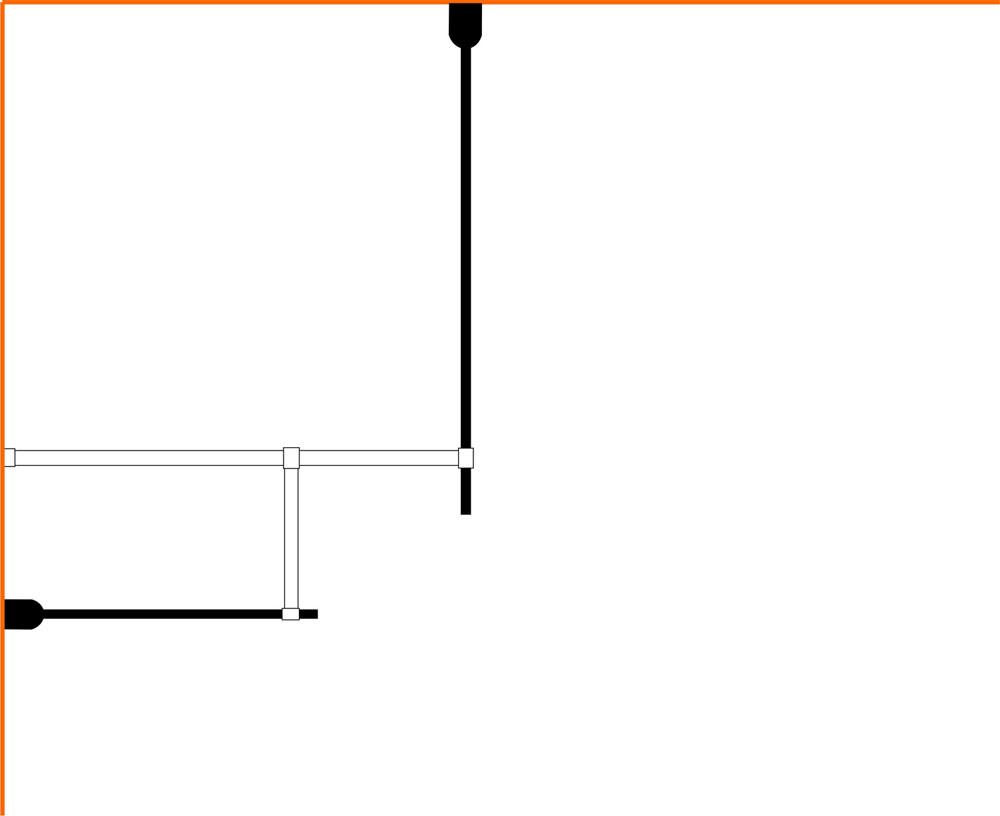 Wiesbaden inloopdouche combinatie-set 1300x900x2000 10mm nano