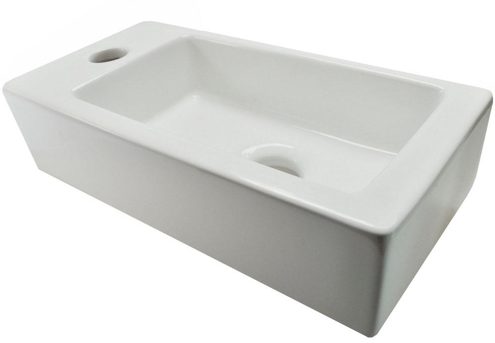 Wiesbaden Mini-Rhea links fontein 360x180x90 wit
