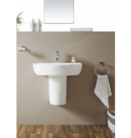 Linea Uno Fold sifonkap 52cm + ophangset wit