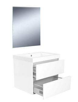 Wiesbaden Vision meubelset (incl. spiegel) 60 cm wit
