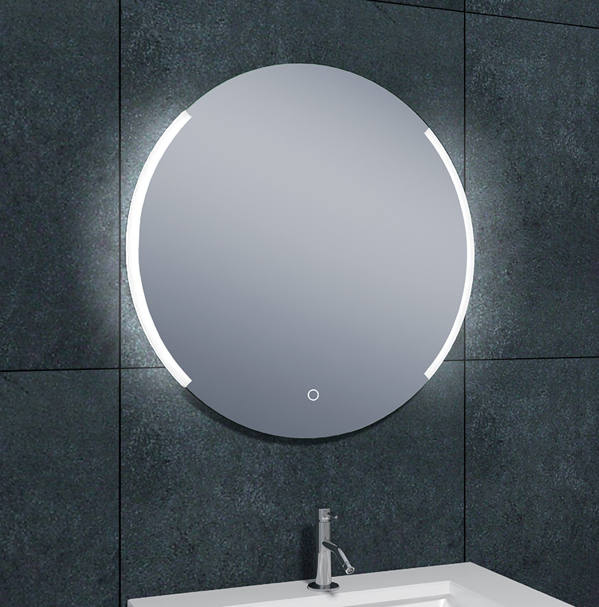Wiesbaden Round dimbare LED condensvrije spiegel rond 80 cm