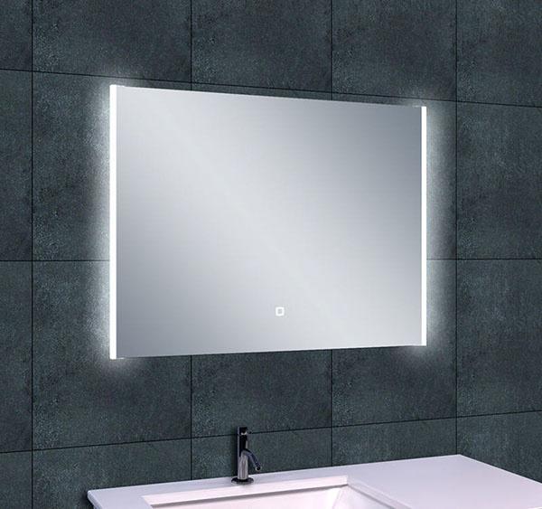 Wiesbaden Duo-Led condensvrije spiegel 80 x 60 cm