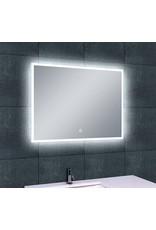 Wiesbaden Quatro-Led dimbare condensvrije spiegel 80 x 60 cm