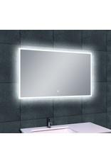 Wiesbaden Quatro-Led dimbare condensvrije spiegel 100 x 60 cm