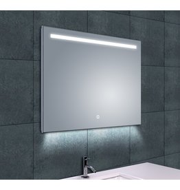 Wiesbaden Ambi One dimbare Led condensvrije spiegel 80 x 60 cm
