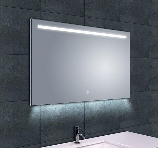 Wiesbaden Ambi One dimbare Led condensvrije spiegel 100 x 60 cm