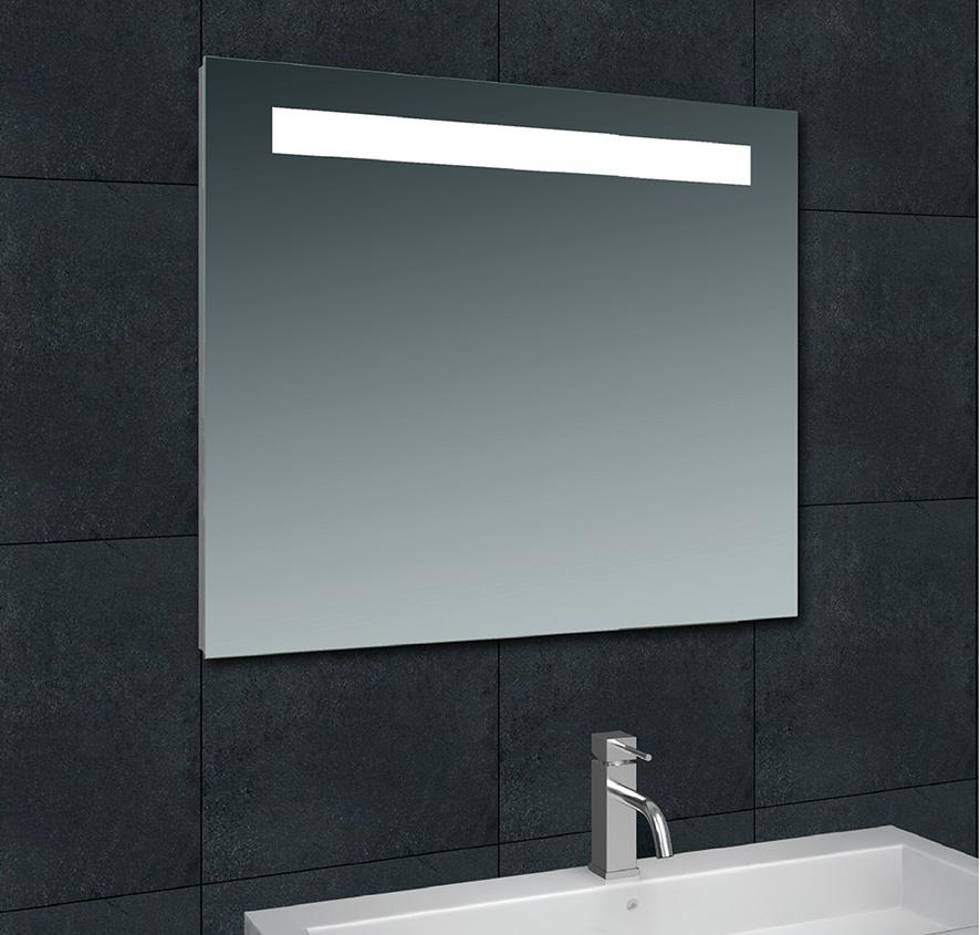 Wiesbaden Tigris spiegel met led verlichting 80 x 80 cm