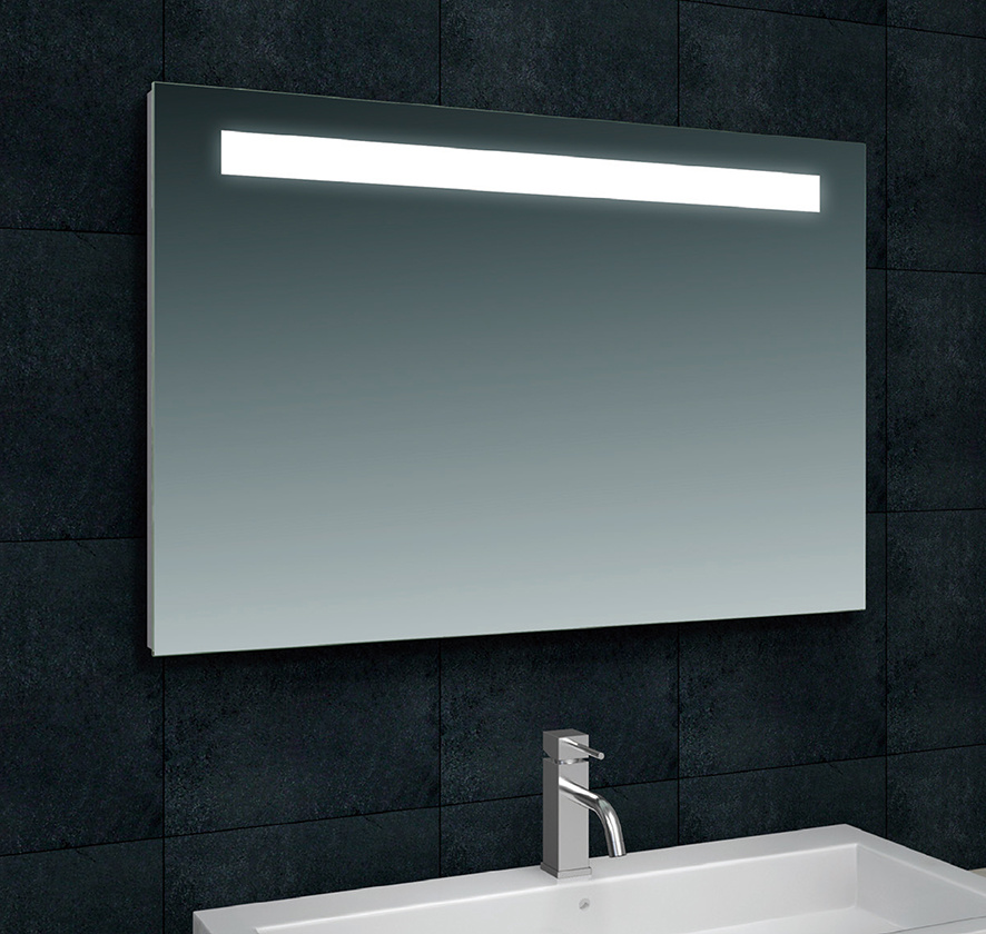 Wiesbaden Tigris spiegel met led verlichting 100 x 80 cm