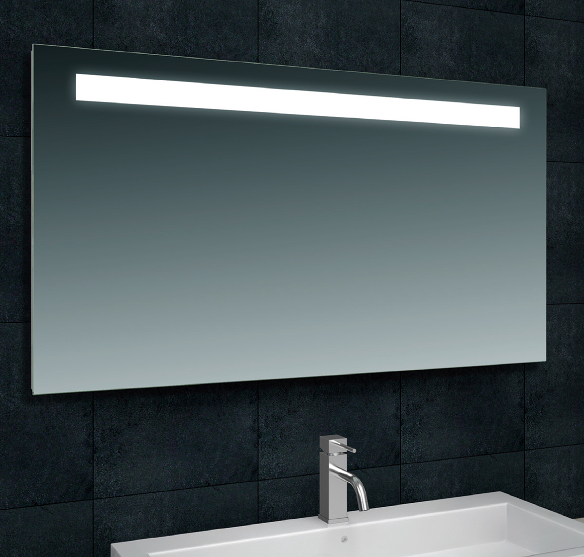 Wiesbaden Tigris spiegel met led verlichting 120 x 80 cm