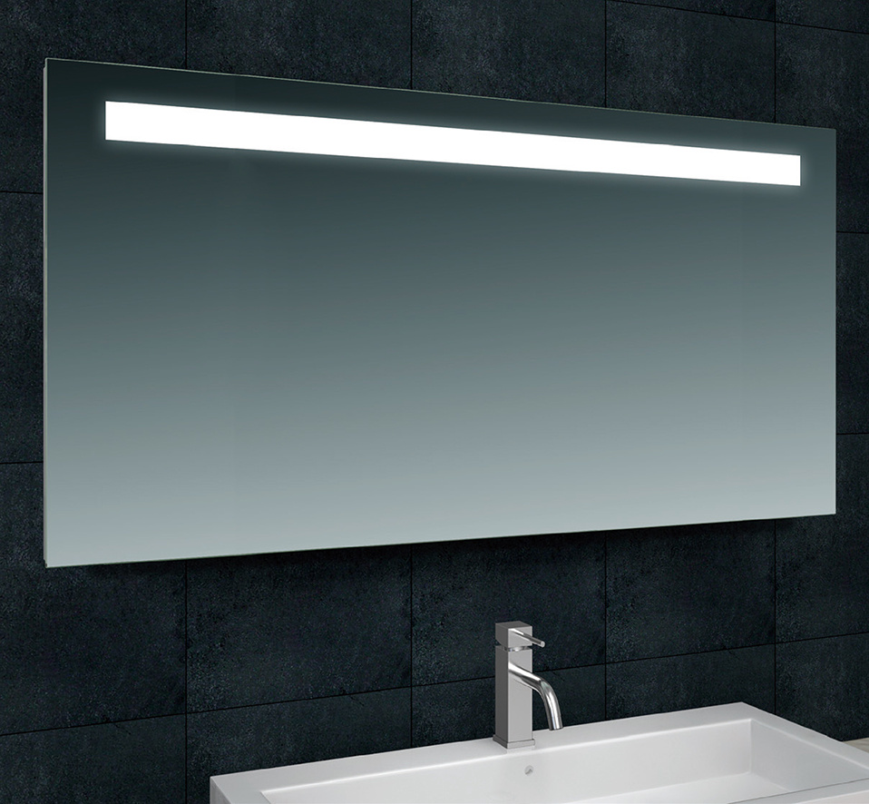 Wiesbaden Tigris spiegel met led verlichting 140 x 80 cm