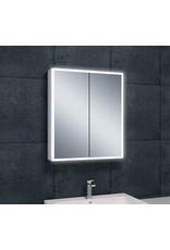 Wiesbaden Quatro spiegelkast +verlichting 60x70x13