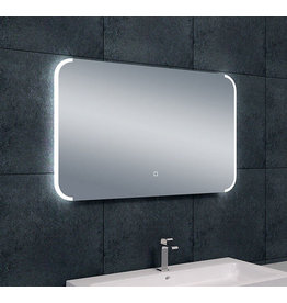 Wiesbaden Bracket dimbare LED condensvrije spiegel 100 x 60 cm