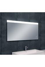 Wiesbaden Single dimbare LED condensvrije spiegel 120 x 60 cm