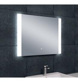 Wiesbaden Sunny dimbare LED condensvrije spiegel 80 x 60 cm