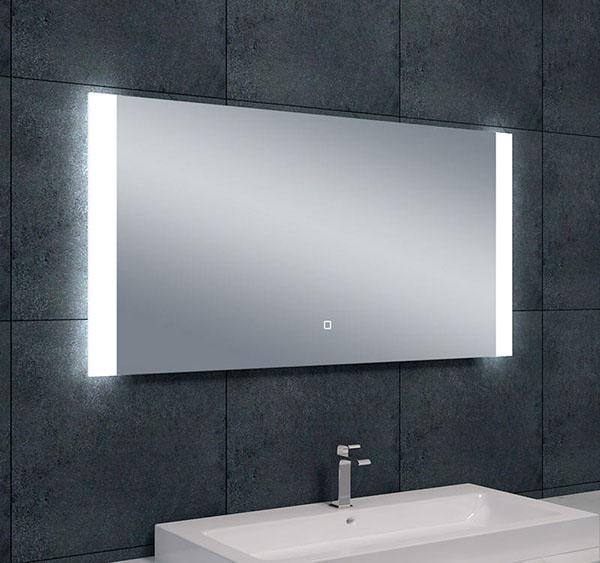 Wiesbaden Sunny dimbare LED condensvrije spiegel 120 x 60 cm