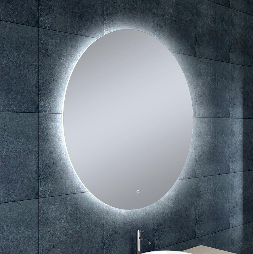 Wiesbaden Soul spiegel + Led rond 100 cm