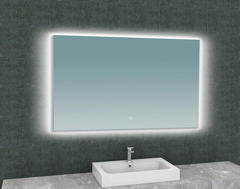Wiesbaden Soul spiegel + Led rechthoek 1200x800