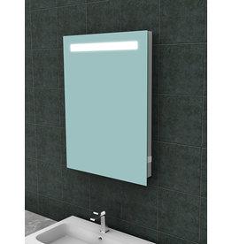 Wiesbaden Tigris spiegel met led verlichting + stopcontact  600x800