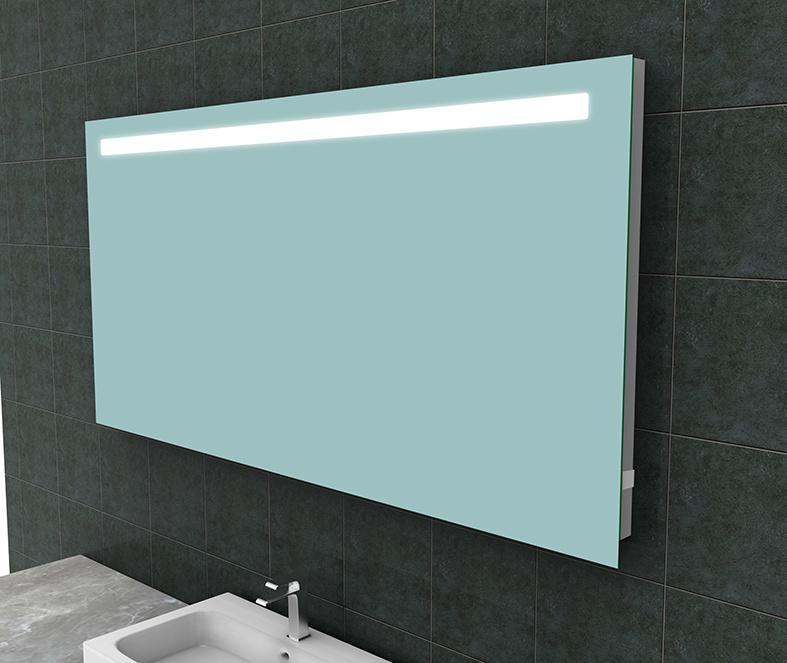 Wiesbaden Tigris spiegel met led verlichting + stopcontact  1600x800