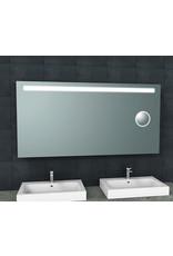 Wiesbaden Tigris spiegel met led verlichting + scheerspiegel  1600x800