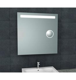 Wiesbaden Tigris spiegel met led verlichting + scheerspiegel  800x800