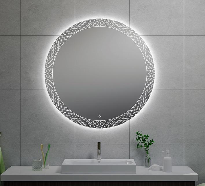 Wiesbaden Deco condensvrije led-spiegel 100 cm