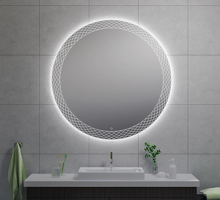 Wiesbaden Deco condensvrije led-spiegel 120 cm