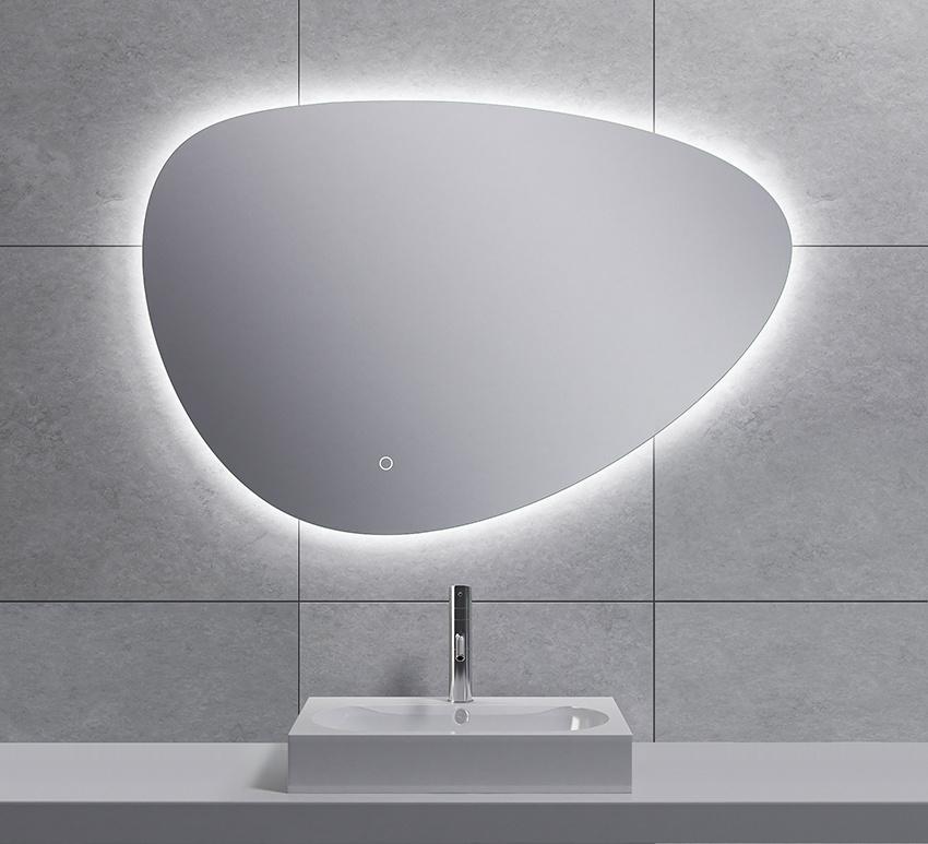 Wiesbaden Uovo condensvrije led- spiegel dimbaar 90 cm