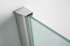 Wiesbaden inloopdouche + muurprofiel 1100x2000 10mm NANO glas