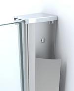 Wiesbaden inloopdouche + muurprofiel 500x2000 10mm NANO glas