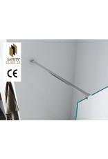Wiesbaden inl.douche Safety Glass 10mm NANO 800x2000