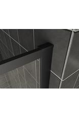 Wiesbaden Square inloopdouche 10mm NANO 1200x2000 mat-zwart