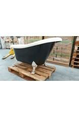 Linea Uno OP=OP Ligbad Norman 150cm €395 zwart vrijstaand 150x75x72cm bad
