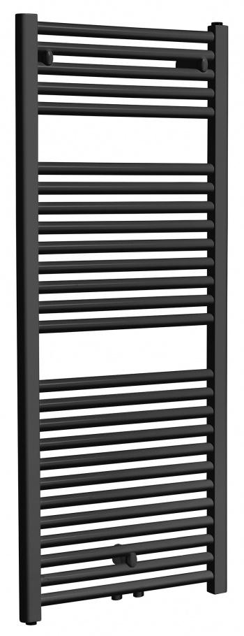 Wiesbaden Elara sierradiator 118,5 x 45,0 cm mat zwart