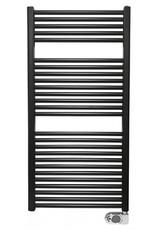 Wiesbaden Elara elektrische radiator 118,5 x 60 cm mat-zwart