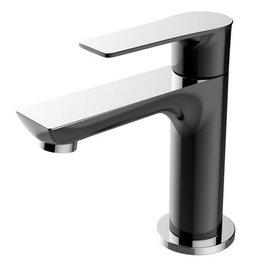 Wiesbaden Casma toiletkraan 1/2'' zwart/chroom