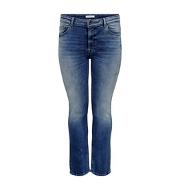Carmakoma Broek jeans pisa destroyed blauw
