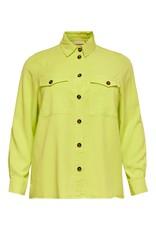 Carmakoma Blouse Stello geel / groen
