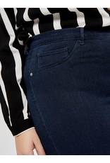 Carmakoma Jeans storm push up HW SK donker blauw