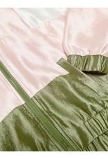 Kids Only Vest bomber Dorota satin blok roze groen