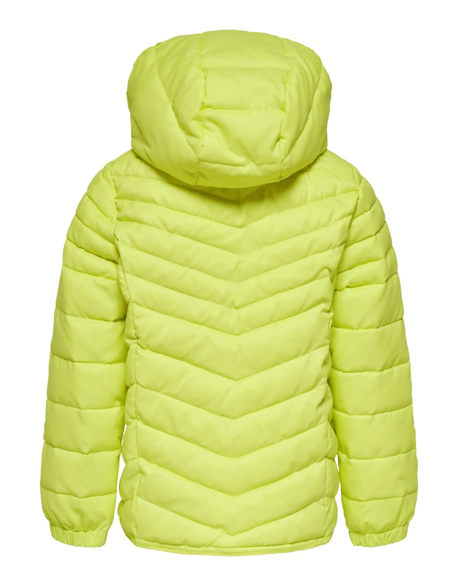 Kids Only Jas Demi quilt hooded geel