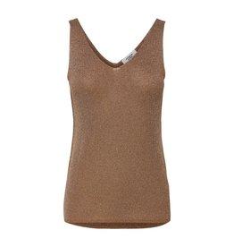 Jacqueline De Yong Top Glory knit bruin