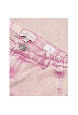 Kids Only Jeans Lisa wide cropped roze