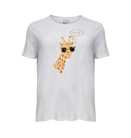 Carmakoma Shirt Stacy giraf wit