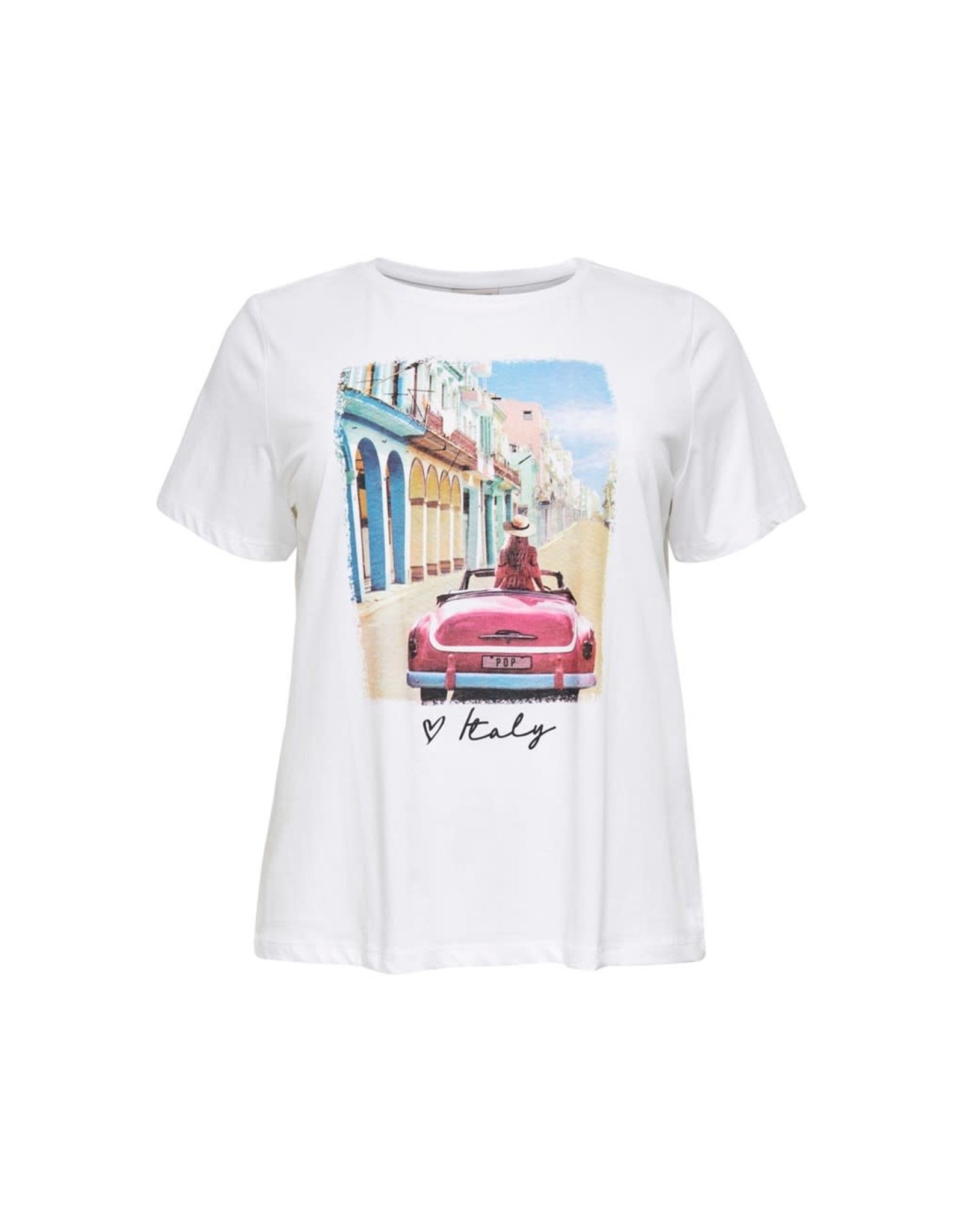 Carmakoma T-shirt California life wit